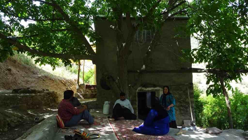 Hand build house, carpets & tea