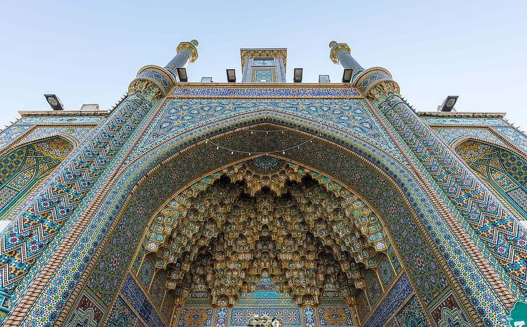 Shrine of Fatimah Bint Musa, source; en.wikipedia.org