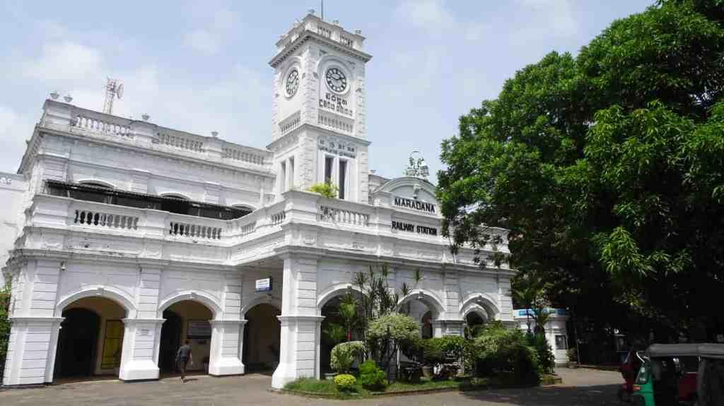 Maradana railway station Colombo