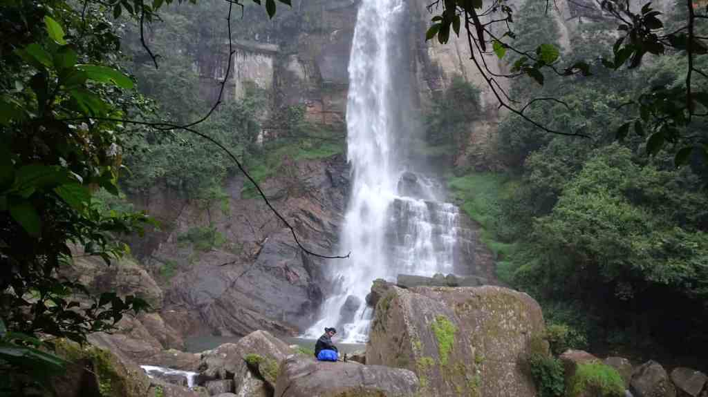 Nuwara Eliya Ramboda Waterfalls