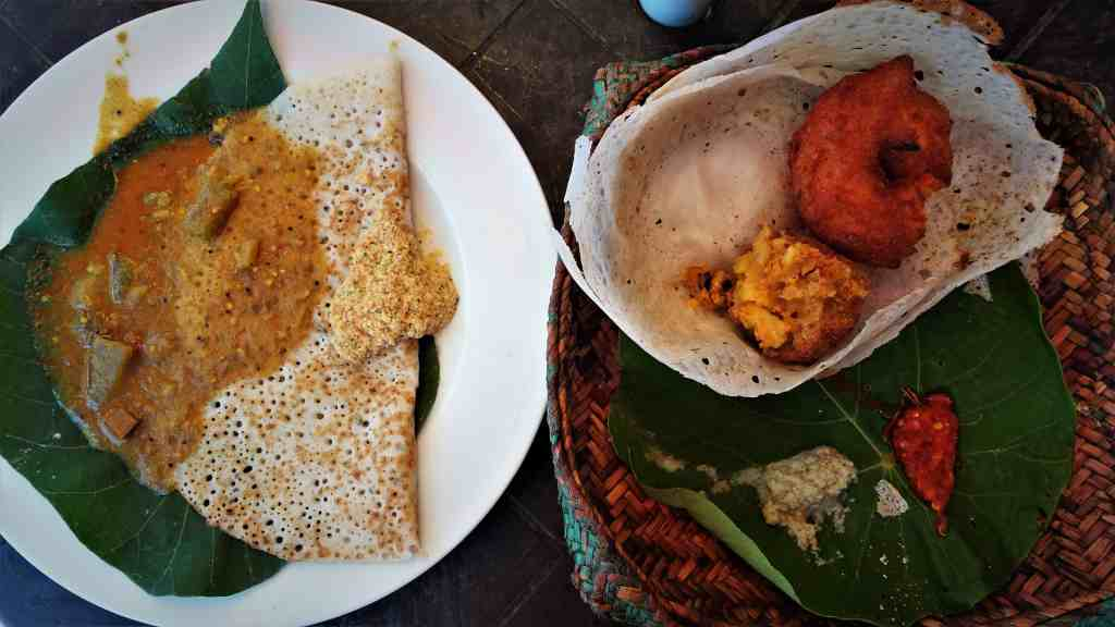 Food in Sri Lanka; vadai