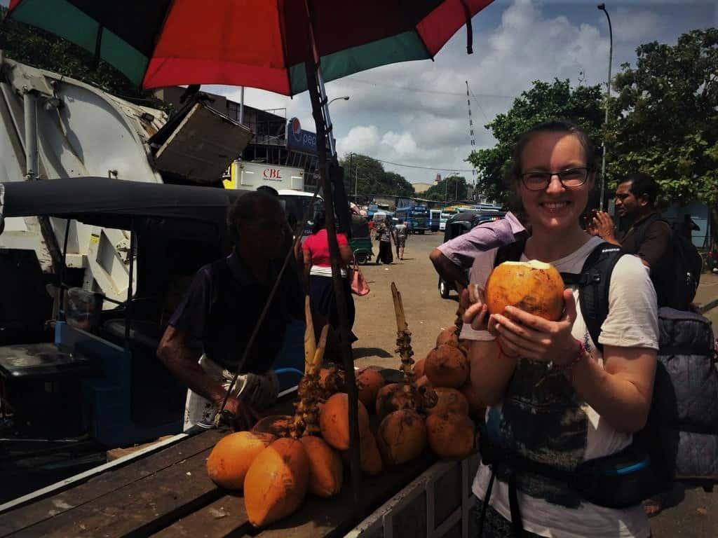 Food in Sri Lanka; King Coconut