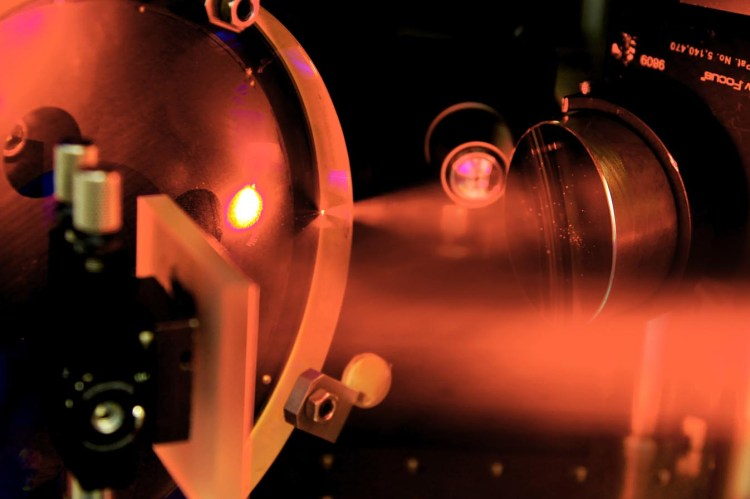 Probing antimatter-matter interactions