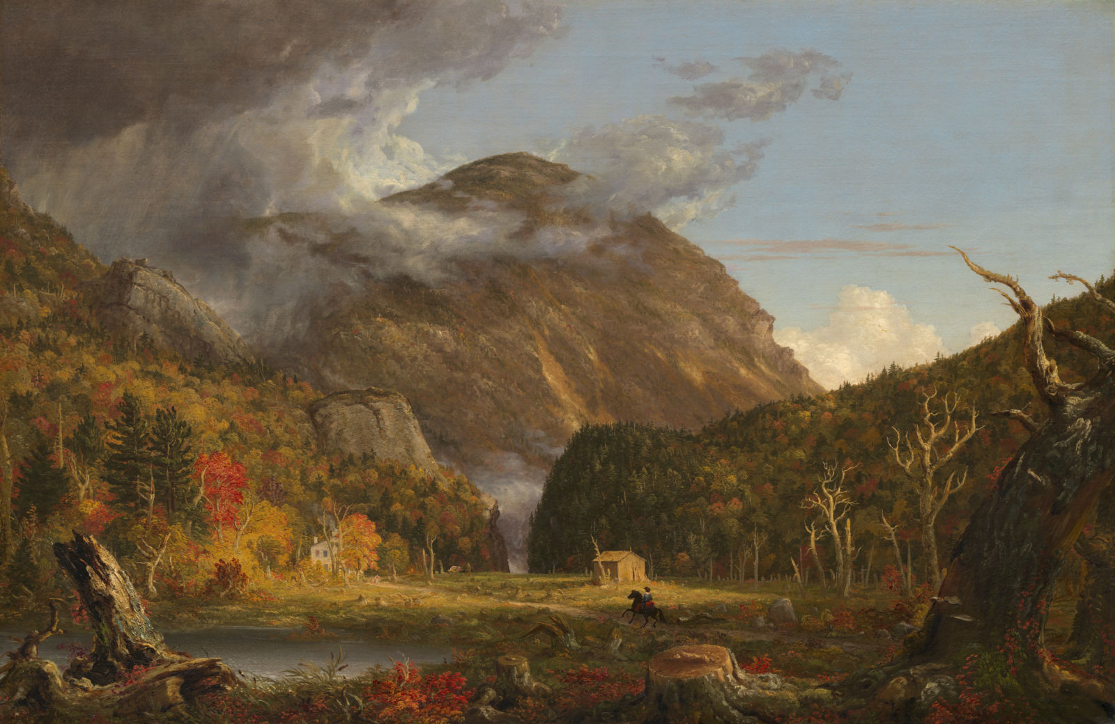 Landscape painting by Thomas Cole