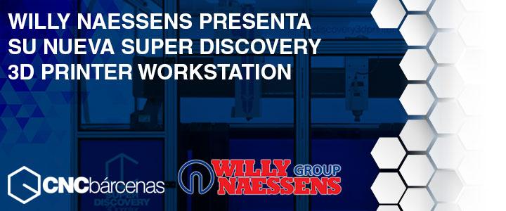 Willy Naessens Group impresora 3d
