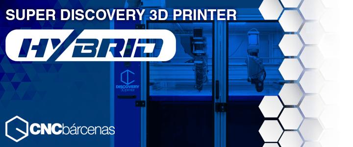 impresora 3d hibrida