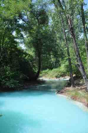 32 sorgenti sulfure del fiume lavino abruzzo