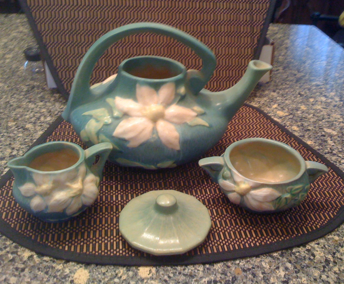 You are currently viewing Roseville Tea Set