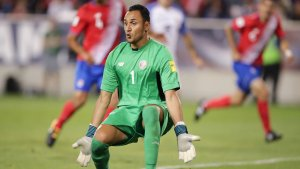 Athlete Keylor Navas