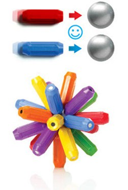 smartmax magnetic discovery-balls connects to 20 rods