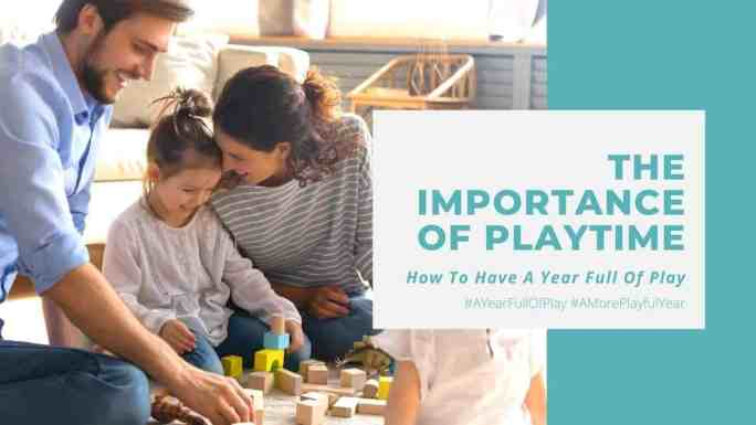importance of playtime-a family playing with wooden building blocks together