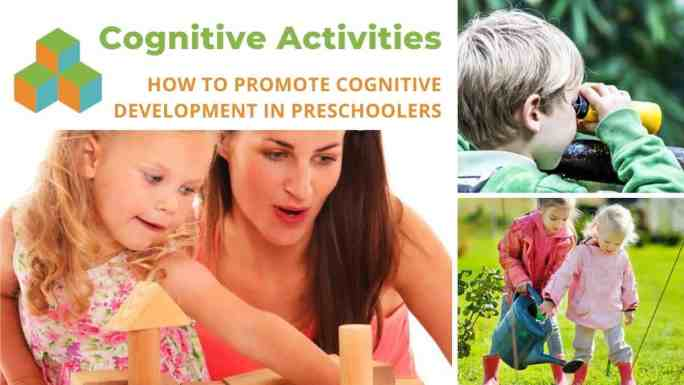 cognitive activities.block play.3 images of kids playing