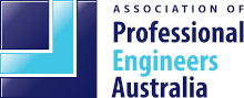 Association of Professional Engineers Australia Logo for Bouldering and Rock Climbing Walls