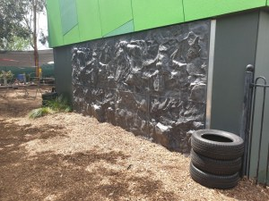 Bouldering Wall at a Early Learning Centre