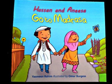 This simple story follows a brother and sister through their Madrassa (or Quranic school) routine. It can be a great introduction to young children who are getting ready to start part-time Islamic education or to those who are already involved in such a program. Price: $8.50