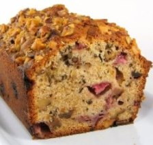 Strawberry Tea Bread for Photo Blogs