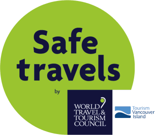 Contact us with confidence. Tourism Vancouver Island - Safe Travels  designation by World Travel & Tourism Council