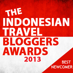 Indonesian Travel Bloggers Awards 2013 - Best Newcomer