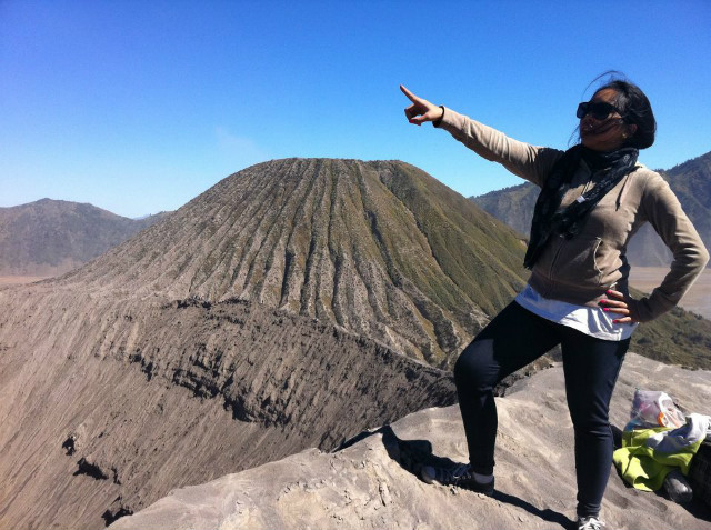 Hitchhiker Indonesia Dhita Bromo