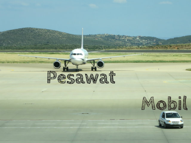 Indonesian Language pesawat
