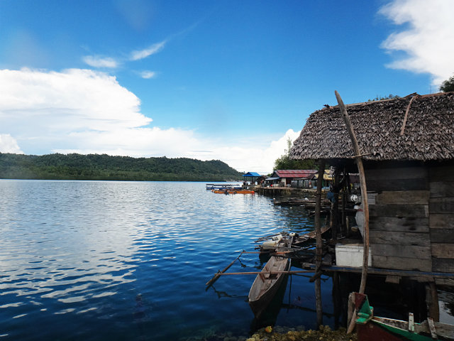 Bajau Village around togean islands