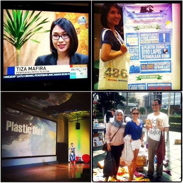 Gerakan Indonesia Diet Kantong Plastik - Tiza Mafira