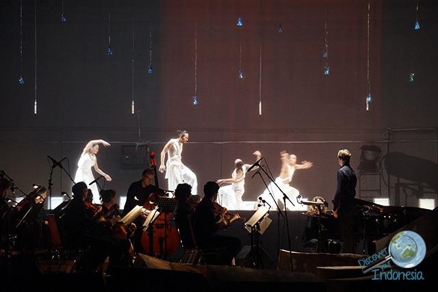 Gandari dance opera show December