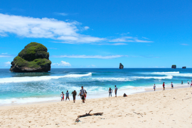 Weekend Getaway from Jakarta - Goa Cina beach in Malang