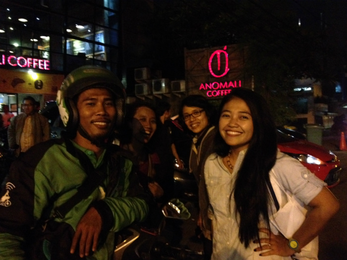 picture with the ojek driver is not a crime