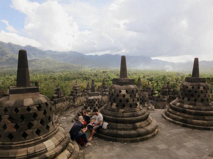 Borobudur morning exploration