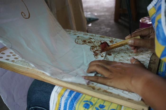Batik class Yogya