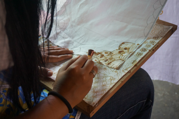 Batik class Yogyakarta