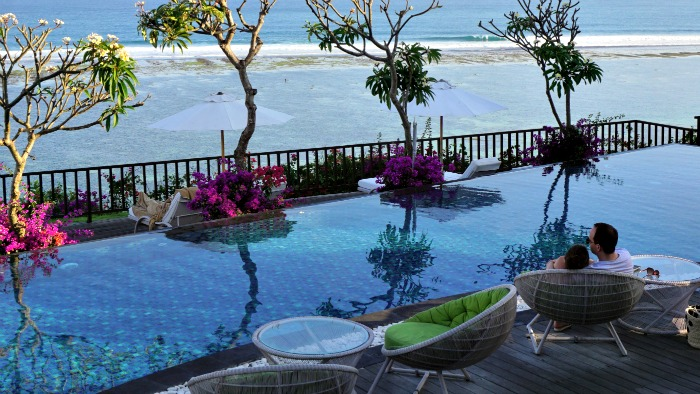 honeymoon in Samabe Bali Indonesia