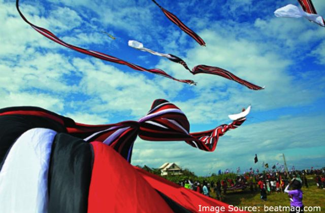 The Bali Kite Festival is an annual event that is held to ask for a bountiful harvest.