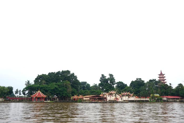 Kemaro island in Musi river