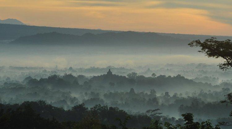 Sunrise Setumbu Hill, Setumbu Hill, Setumbu Borobudur, Punthuk Setumbu