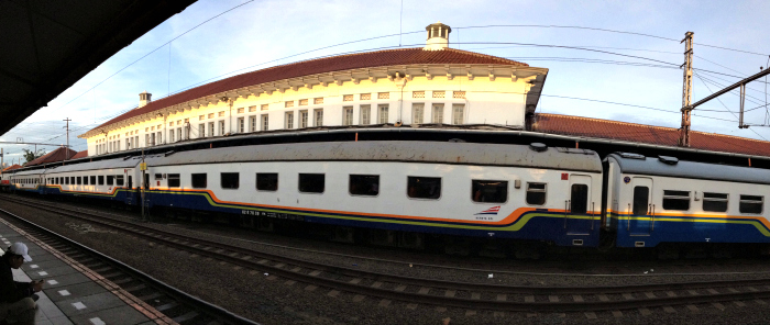 Train from Yogyakarta to Bromo