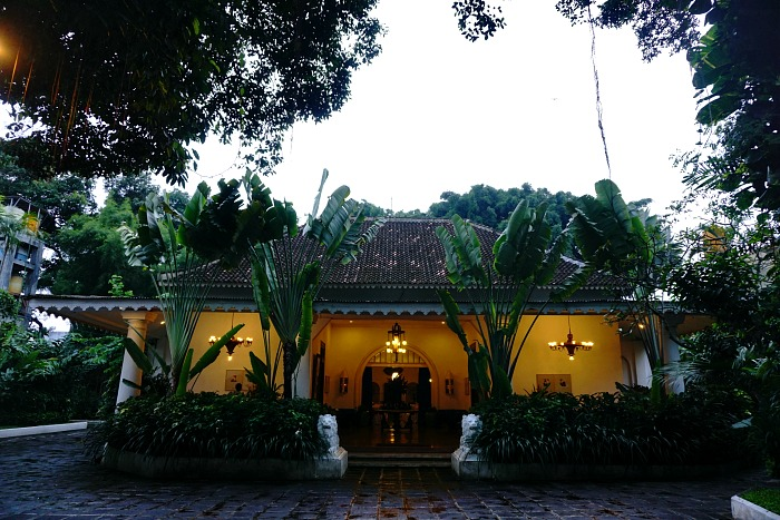 Main building of Tugu Hotel Blitar