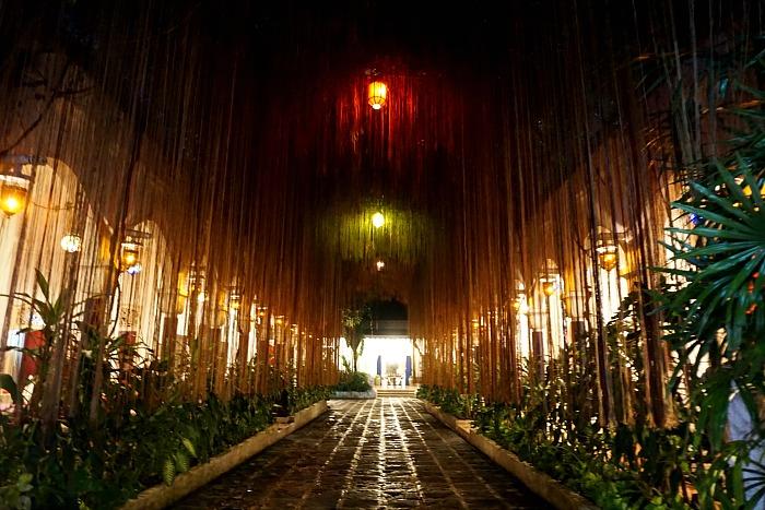 The Entrance to the hotel tugu blitar