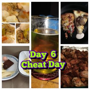 Day 6 slow carb diet cheat day