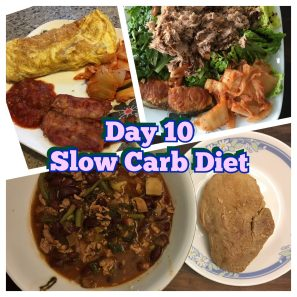 Slow Carb Diet day 10