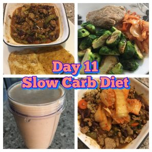 Week 11 Slow Carb Diet
