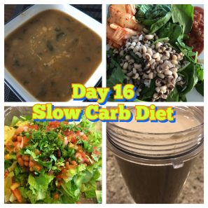 Day 16 Slow Carb Diet