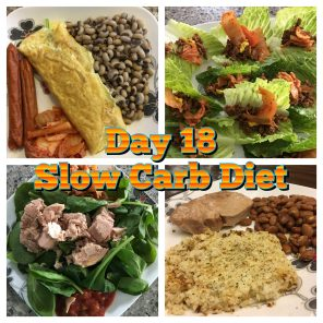 Day 18 Slow Carb Diet