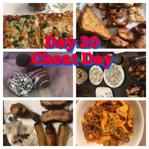 Slow Carb Diet Day 20