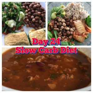 Day 24 Slow Carb Diet