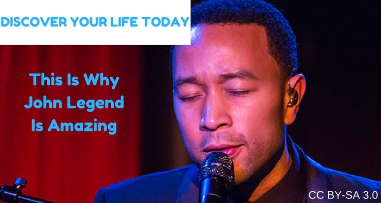This Is Why John Legend Is Amazing - New