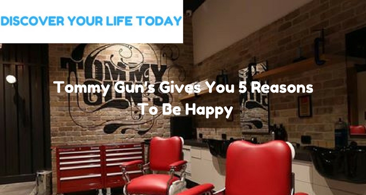 Tommy Gun's Gives You 5 Reasons To Be Happy