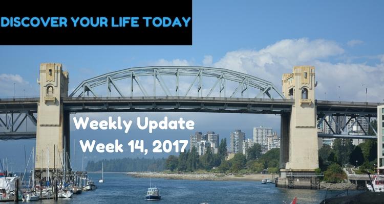 Weekly Update Week 14, 2017