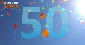 celebrating 50 episodes of Using Your Power Maveen Kaura